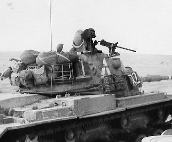 """14.10.1973 - טנק ה-מח""""ט לאחר קרב ה-שב""""ש"""