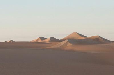 דיונות במדבר סהרה