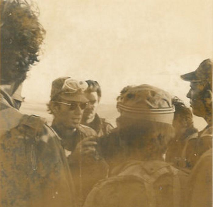 """רס""""ן נתן שונרי, מג""""ד סיור ונ""""ט 582 - תדריך לפני """"אבירי-לב"""" - 15.10.73"""