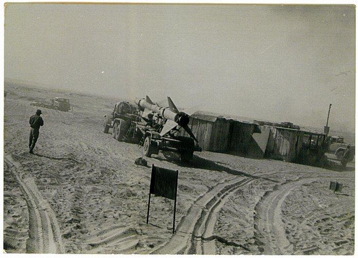 """בסיס טילים מצרי בגדמ""""ע"""