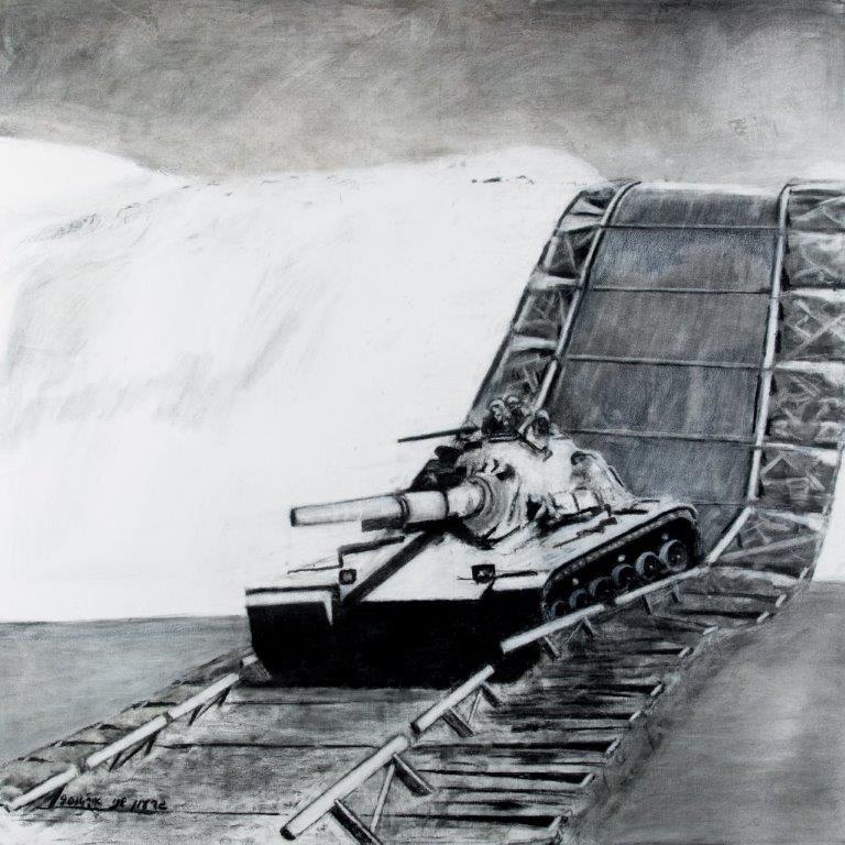 גוני - ציור פחם